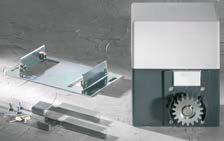 SM 40 T SLIDING GATE OPERATOR SOMMER 600KG 230 V